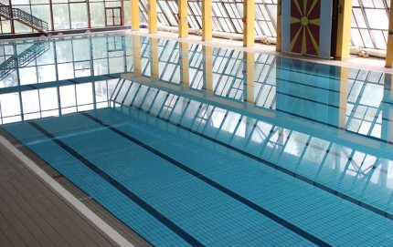 Free usage of Olympic swimming pool